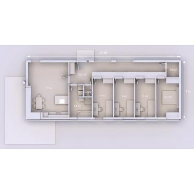 Ormar kuće 5-sobni
